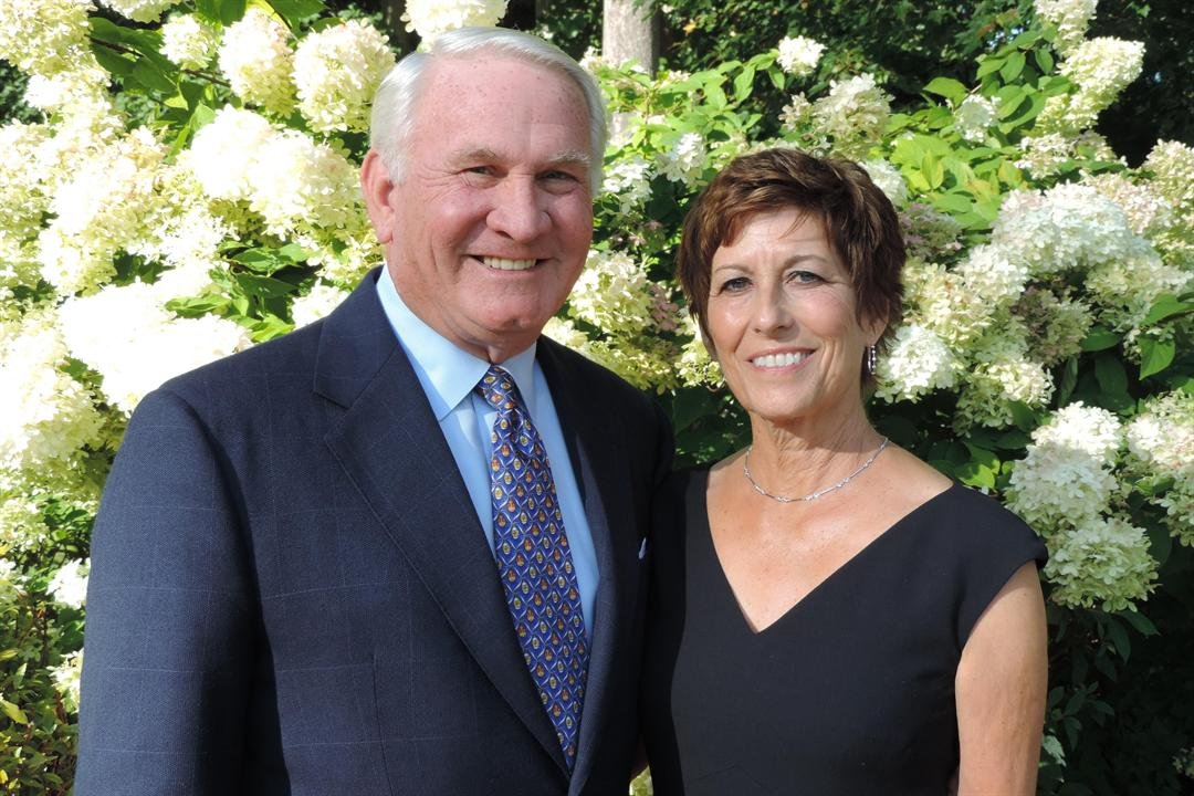 Verl & Sandra Purdy - Courtesy of WVUToday