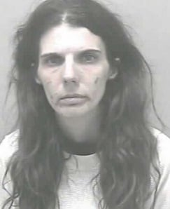 Elizabeth Jane Stout, 40, was arrested on meth related charges.