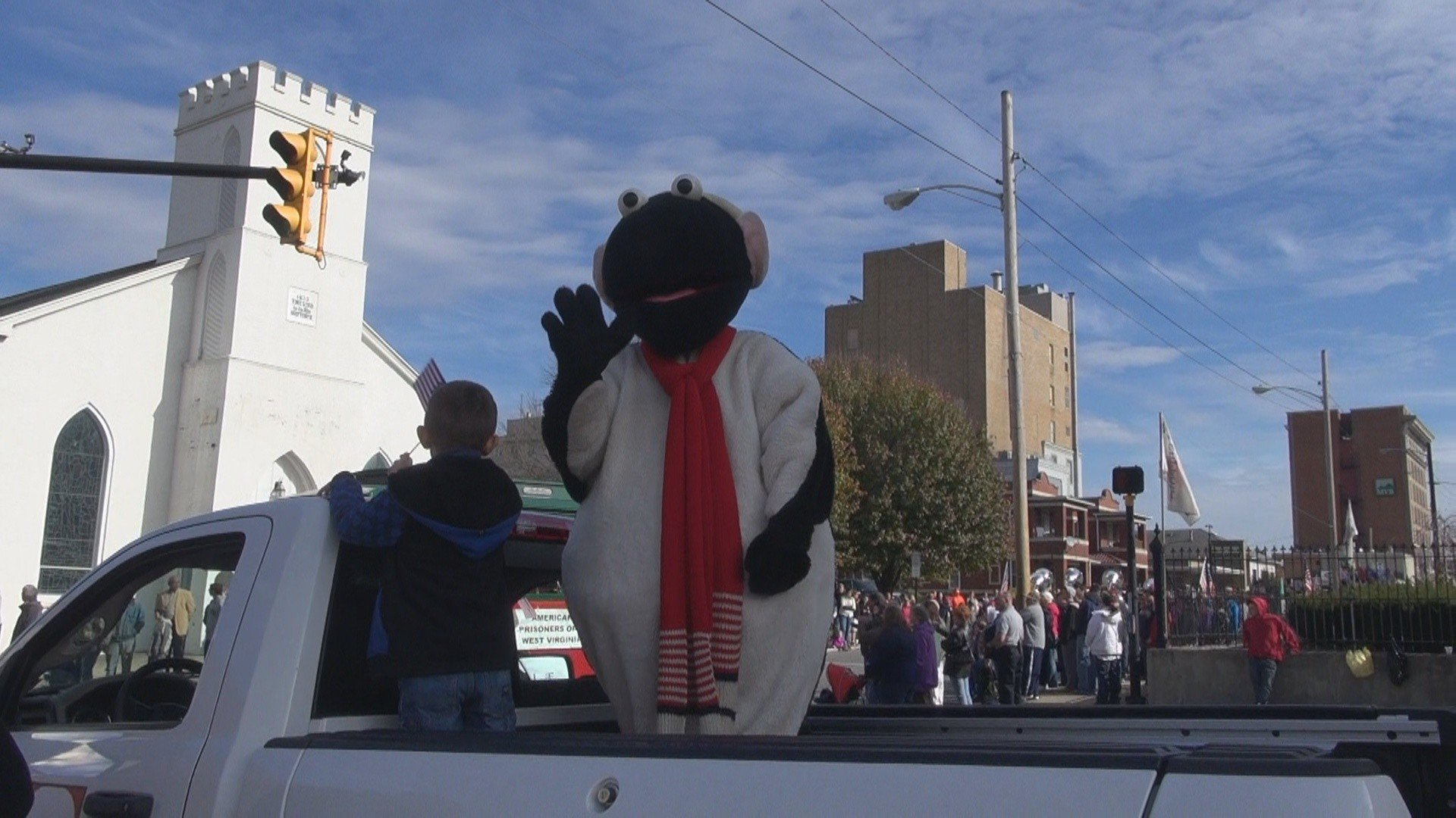 Clarksburg held its Veterans Day parade Monday afternoon.