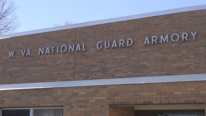 The former W.Va. National Guard Armory will be auctioned off on April 26.