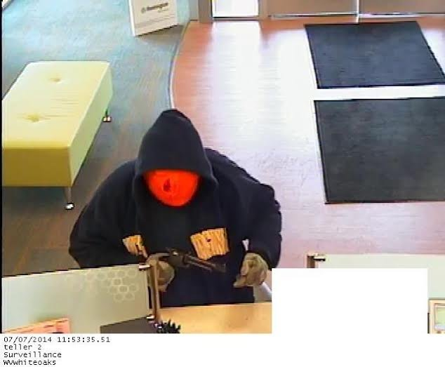 Huntington Bank surveillance image | Photo courtesy of Bridgeport Police