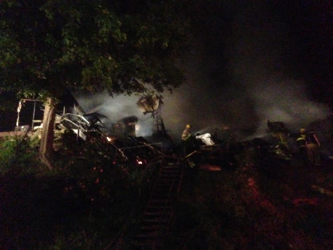 Fire Destroys Doddridge County Home