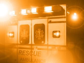 1 Hospitalized After Crash