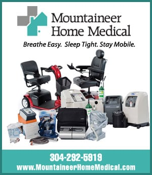 Mountaineer Home Medical - sponsorship ad