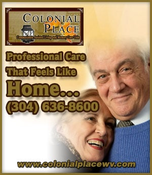 Colonial Place - sponsorship ad