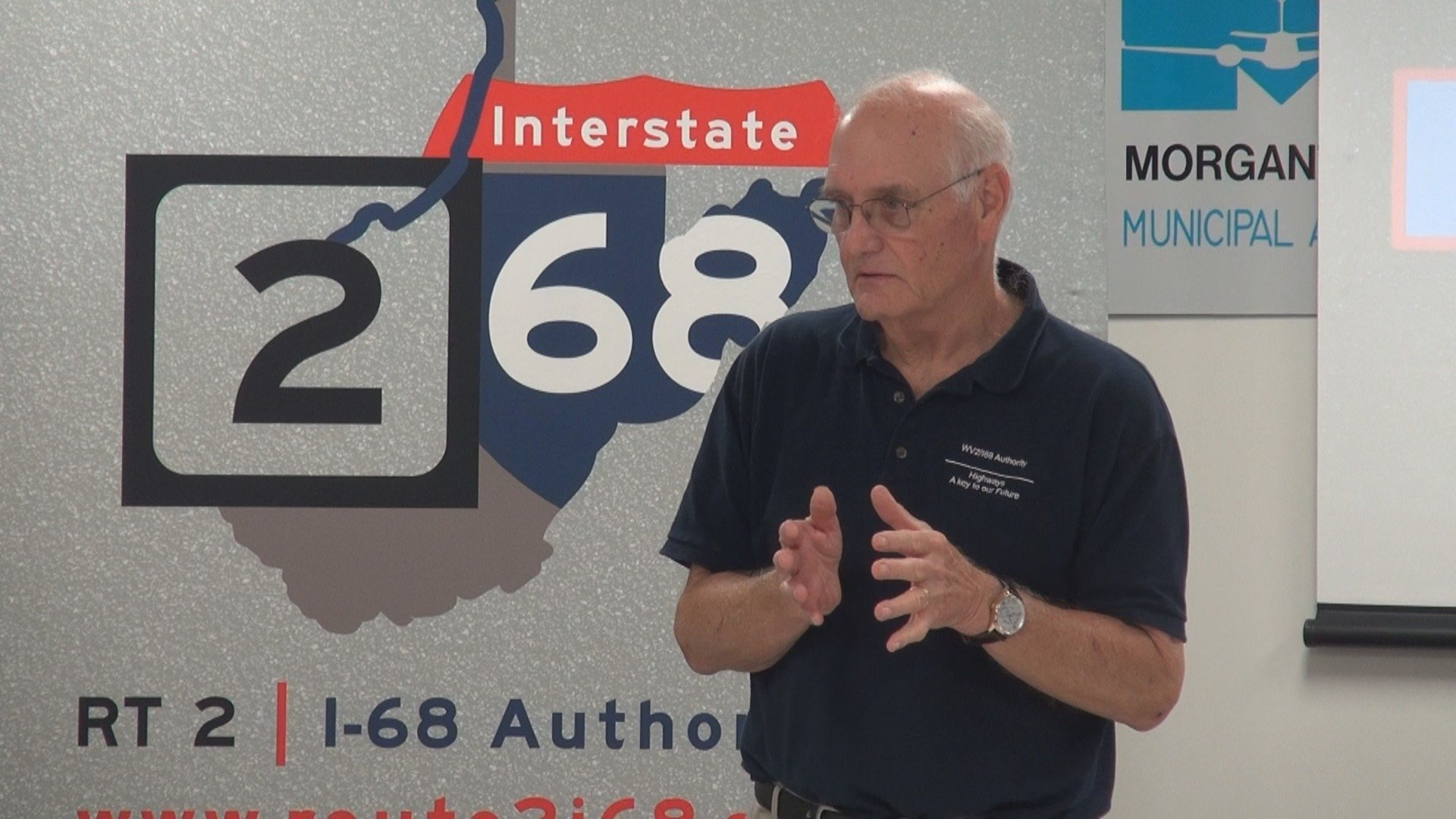 Route 2 I-68 Authority Executive Director, Charles Clements