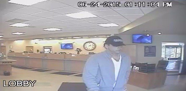 Clear Mountain Bank Robbery Suspect