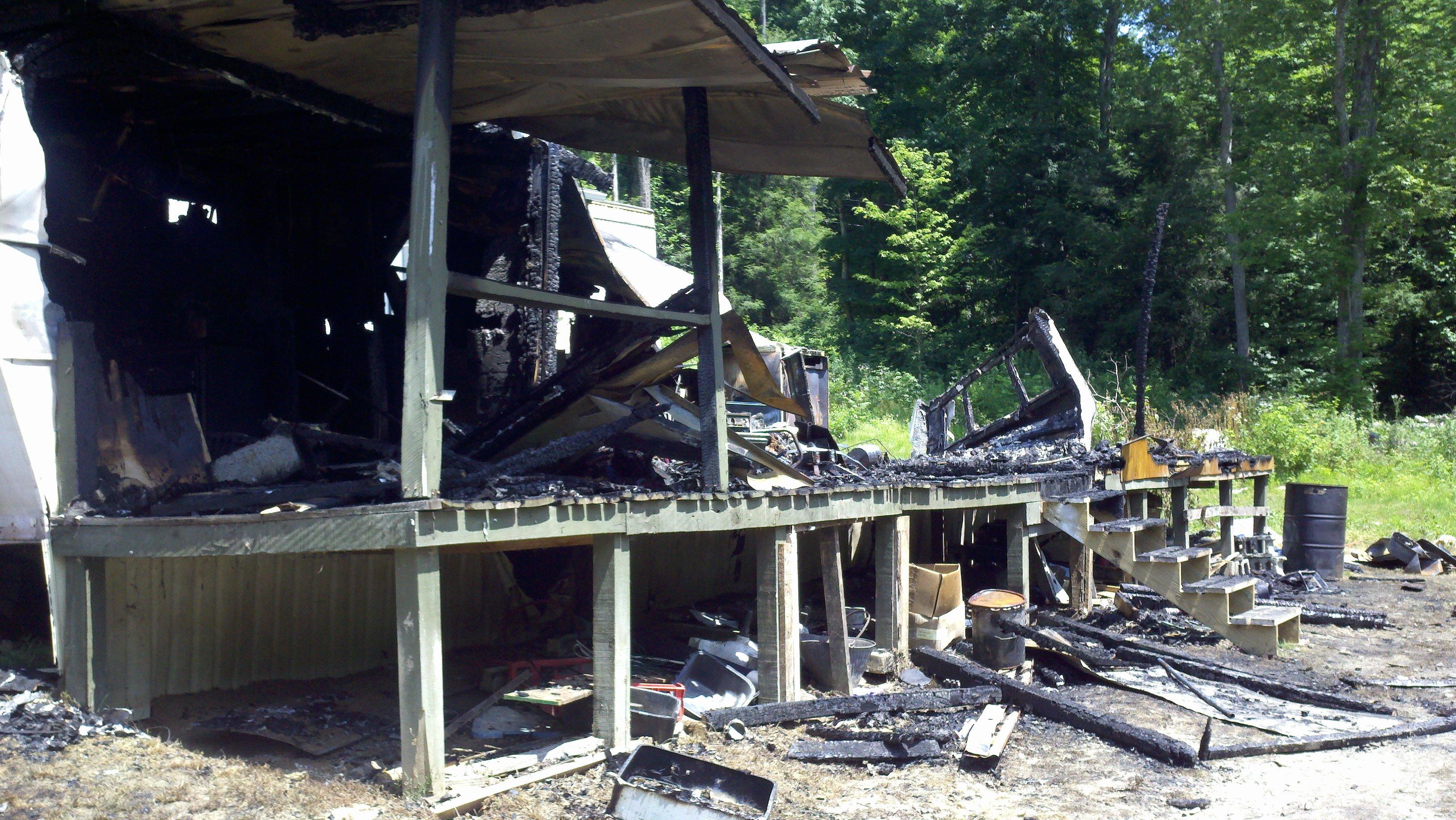 One man dead after randolph county fire wboy clarksburg