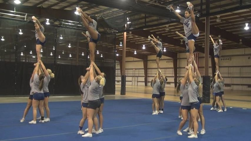 Wvu Competitive Cheerleading Squad Vying For National